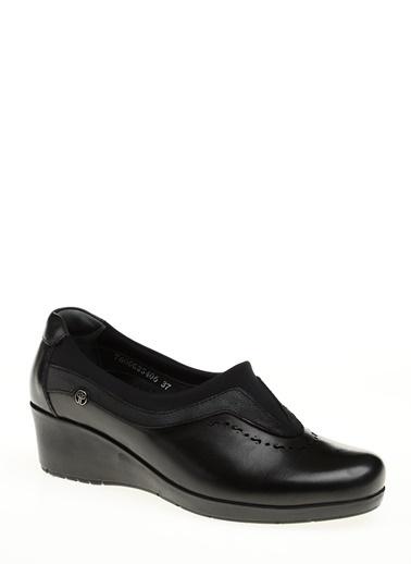 Forelli %100 Deri Ayakkabı Siyah